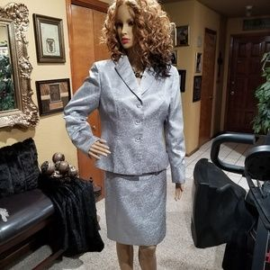Shimmering Gray 2-piece suit